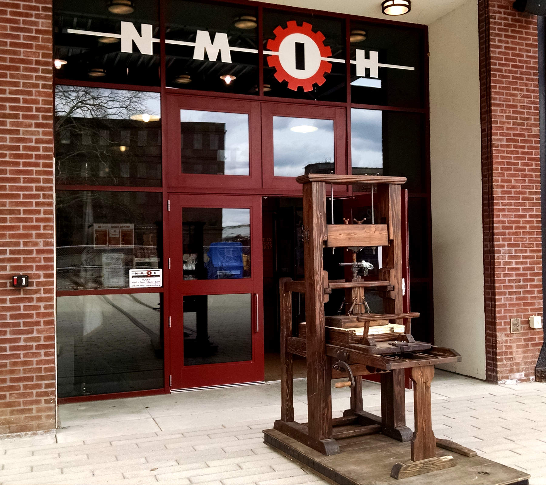 Our Wooden Common Press at NMIH in Bethlehem, PA