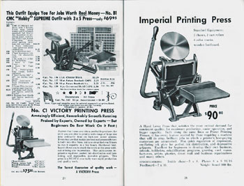 Craftsmen Machinery Company Imperial
