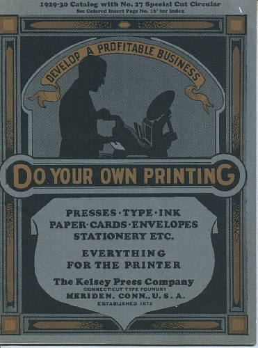 Kelsey Press Company Catalog 1929