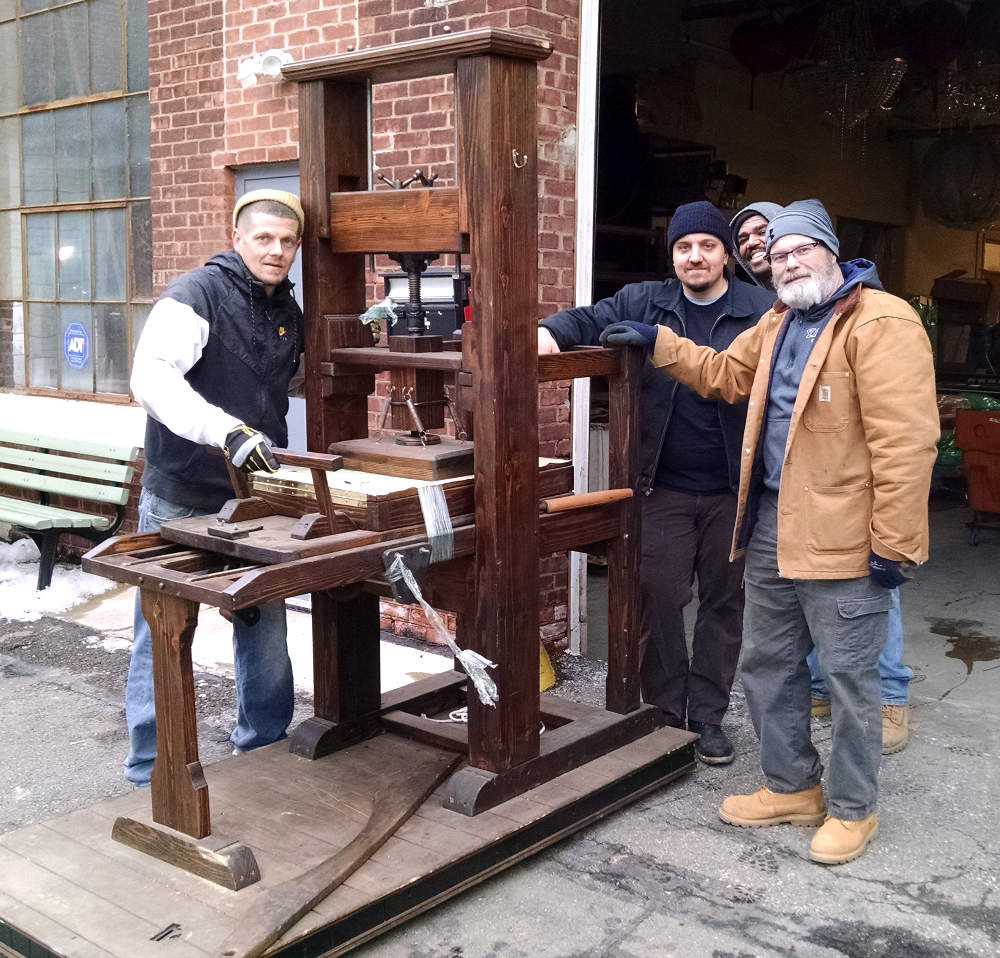 Loading Crew of BB Props, Little Falls, NJ -