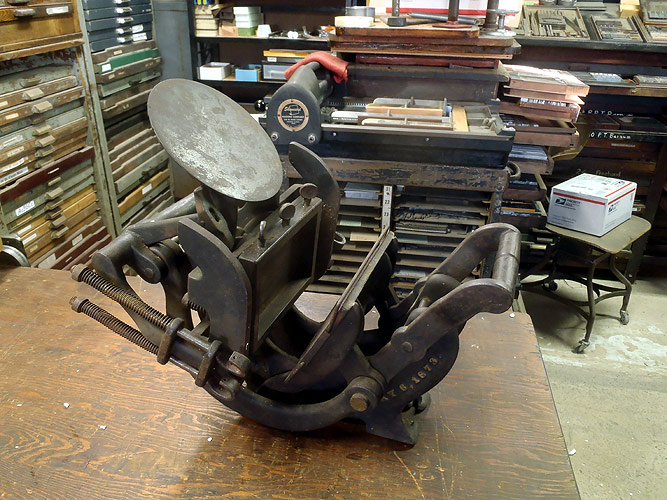The Original 1873 Kelsey Excelsior Press