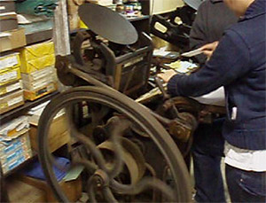 Sarah & Jenet hand-feeding